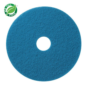 Scrubbing Floor Pad; 19in Blue