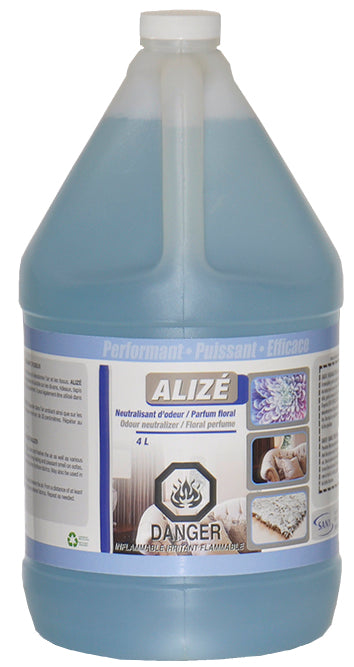 SANY ALIZE Liquid Air and Fabric Freshener; 4L
