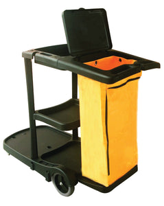 PERFORME Cleaning Cart with Vinyl Bag and Cover.