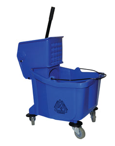 PERFORME 36L Bucket and Wringer Combo with Lateral Press; Blue.
