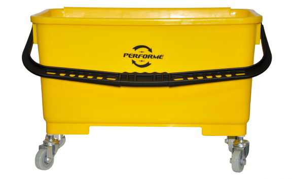 PERFORME 22L Window Bucket; Yellow.