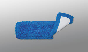 Hi-Static Dust Mop; Tie-on; Blue 48in