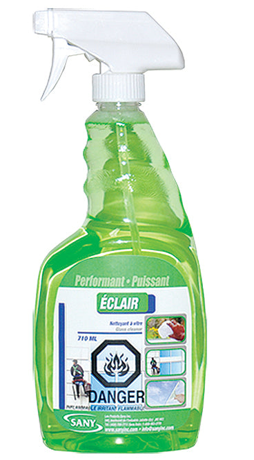 SANY ÉCLAIR Glass and Window Cleaner; 710mL