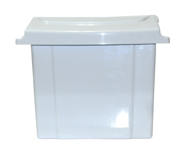 PERFORME Sanitary Wall Mount Disposal Unit; White.