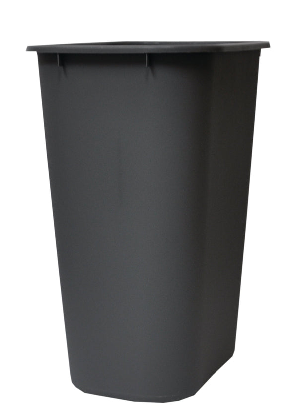 PERFORME 24L Trash Can without Cover; Dark Grey.