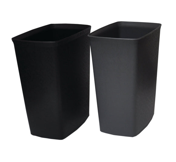PERFORME 8L Trash Can without Cover; Black.
