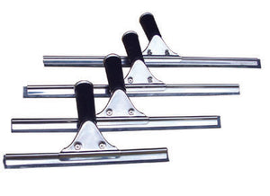 "PERFORME Stainless Steel Industrial Window Squeegee; 18""."
