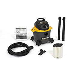 WORKSHOP Wet/Dry Vacs WS0600VA General Purpose Wet Dry Shop Vacuum; 6-Gallon; 2.5-Peak HP