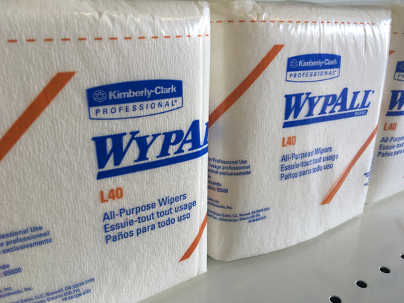 Wypall L40 All Purpose Wipes 1/4 Fold 56pk