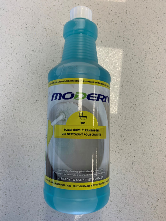 Modern Toilet Bowl Cleaning Gel; 1L