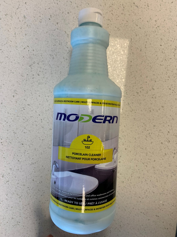 Modern Porcelain Cleaner; 1L