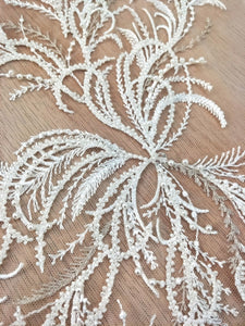 Wedding Dress Decoration Ivory Off White Lace