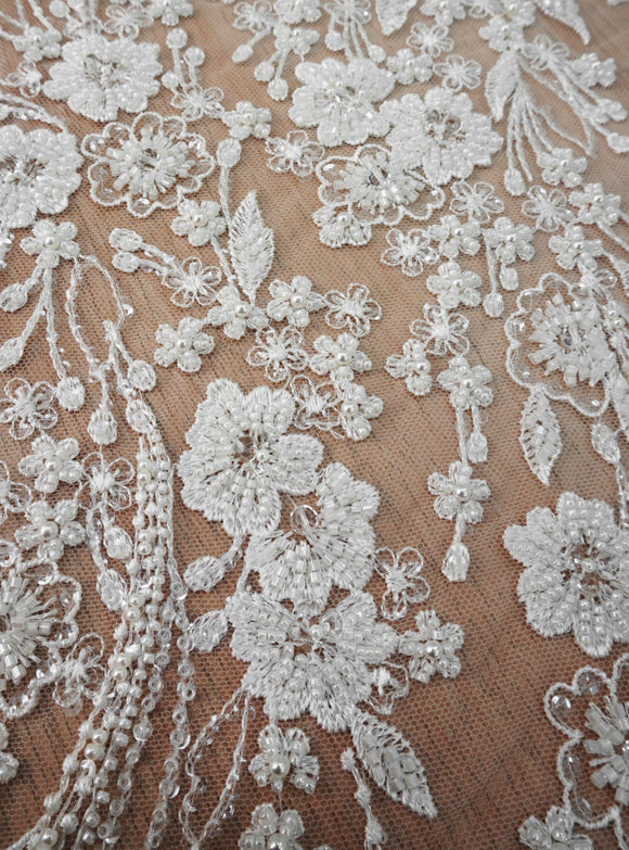 Bead Sequin Embroidery Lace