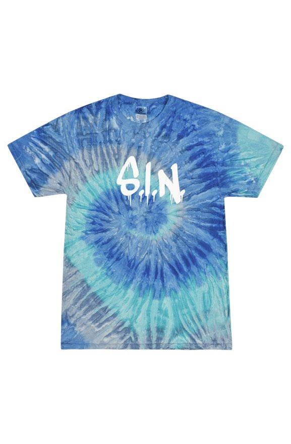 The Drip Blueberry Tie Dye Shirt