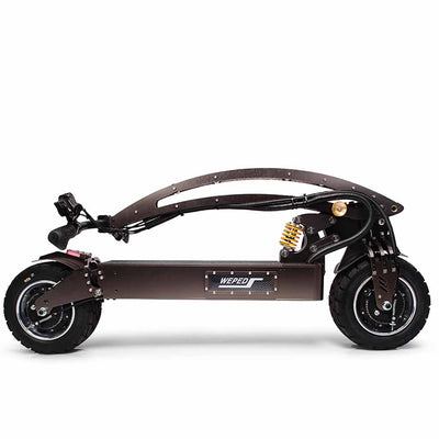 Weped GT Electric Scooter Folded