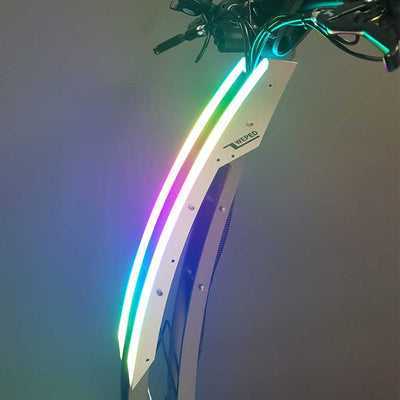 Weped GT upper garnish lights mounted