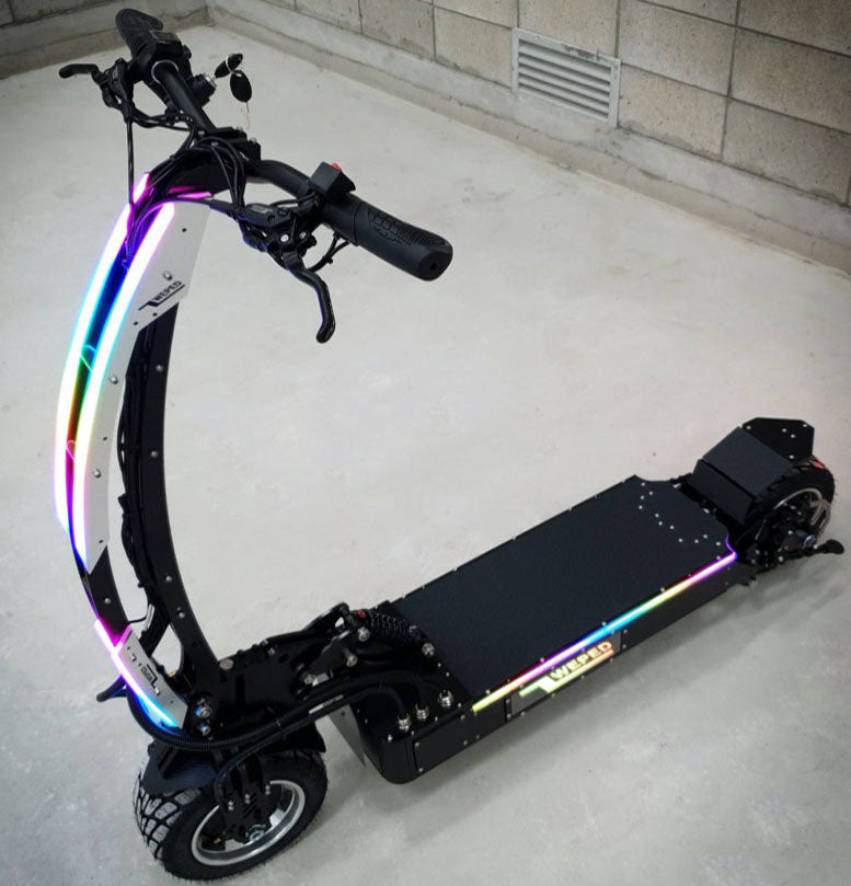 Weped Electric Scooters Model SS Side Top View