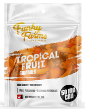 Load image into Gallery viewer, Tropical Fruit Gummy 50mg
