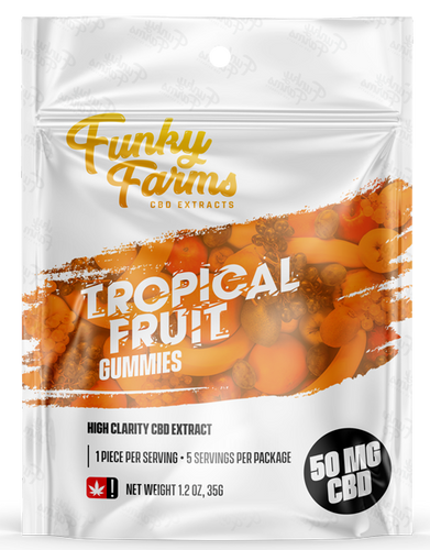 Tropical Fruit Gummy 50mg