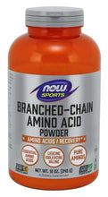 Load image into Gallery viewer, NOW Sports Branched Amino Acid Powder 12oz