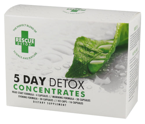 Rescue Detox 5 Day Concentrates