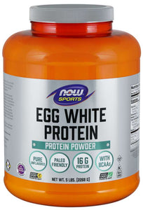 NOW Sports Egg White Protein 1.2lbs