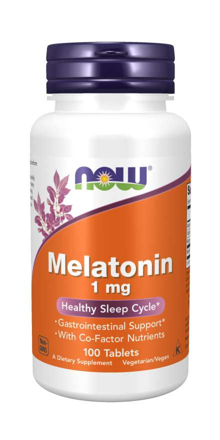 NOW Melatonin 1mg 100 Tablets