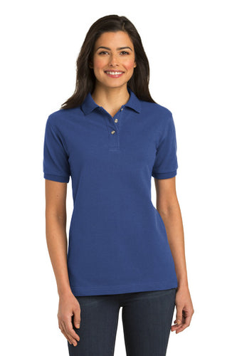 Port Authority® Ladies Heavyweight Cotton Pique Polo