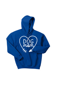Dog Mom Hooded Sweatshirt Heart