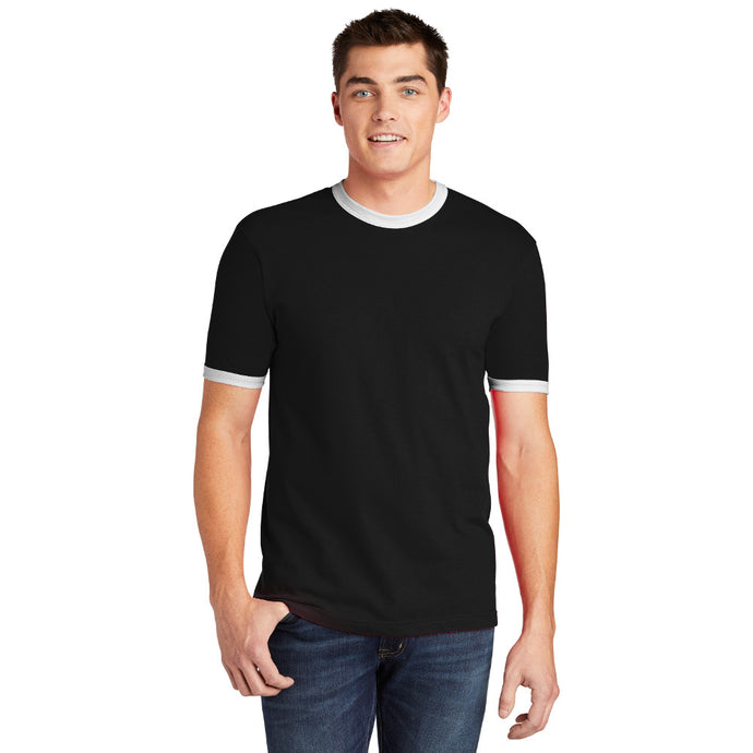 American Apparel ® Fine Jersey Ringer T-Shirt