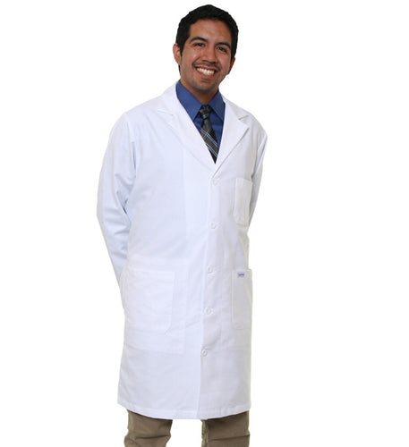 "40"" Twill Antimicrobial Labcoat"