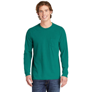 Comfort Colors ® Heavyweight Ring Spun Long Sleeve Pocket