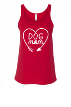 Load image into Gallery viewer, Dog Mom Heart Tank