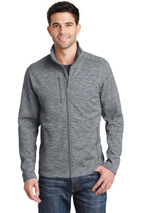 Port Authority® Men's Digi Stripe Fleece Jacket