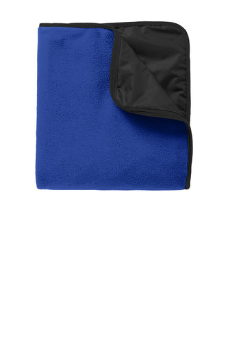 Port Authority® Fleece & Poly Travel Blanket