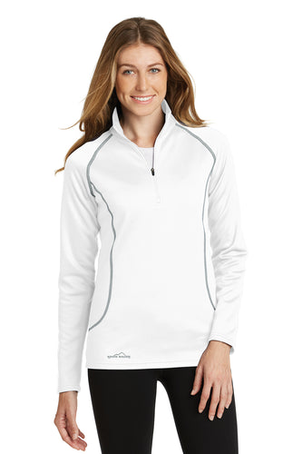 Eddie Bauer® Ladies 1/2-Zip Base Layer Fleece