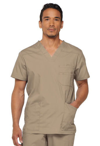 Men's EDS Signature V-Neck Scrub Top