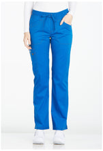 Load image into Gallery viewer, Ladies Essence Mid Rise Straight Leg Drawstring Scrub Pants