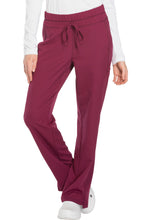 Load image into Gallery viewer, Ladies Dynamix Mid Rise Straight Leg Drawstring Scrub Pants