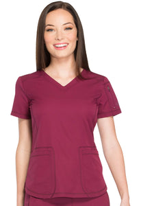 Ladies Dynamix V-Neck Top