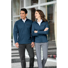 Load image into Gallery viewer, Port Authority® Ladies Vertical Texture Full-Zip Jacket