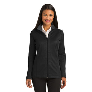 Port Authority® Ladies Vertical Texture Full-Zip Jacket