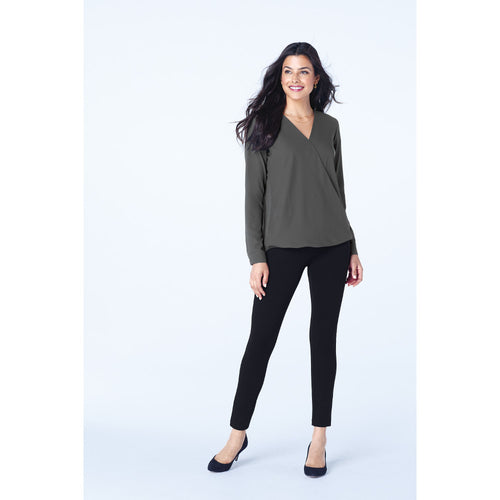 Port Authority ® Ladies Wrap Blouse