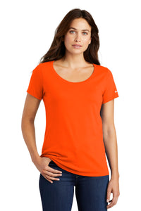 Nike Ladies Core Cotton Scoop Neck Tee