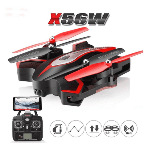 Headless Foldable RC Quadcopter Drone with Camera