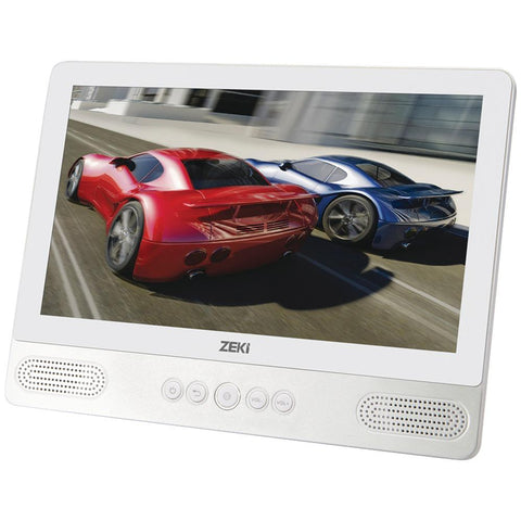 "Zeki(R) TBDV986W 9"" Android(TM) 5.1 Quad-Core 8GB Tablet with DVD Player"
