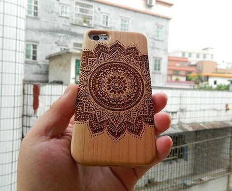 Carved Mandalas iPhone Case