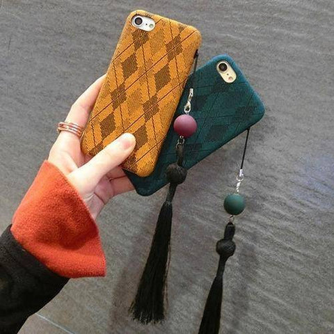 Image of Cloth iPhone Case