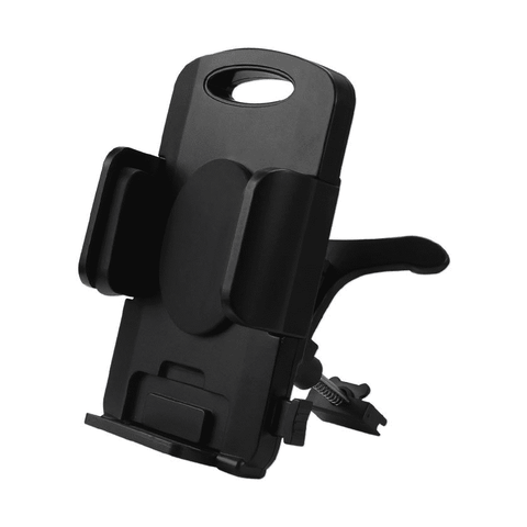 Reiko 360 Air Vent Mount Car Phone Holder in Black