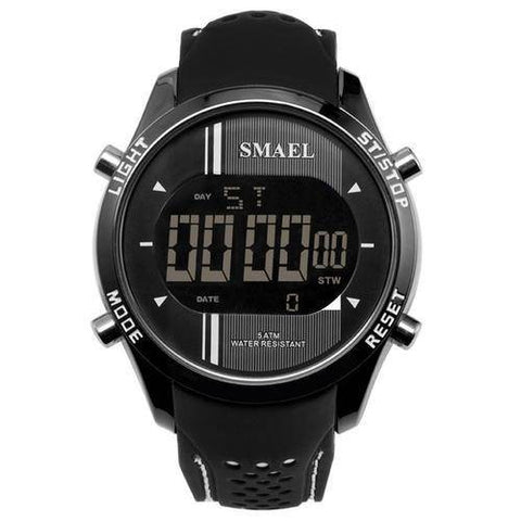 Image of Digital Wristwatches Silicone Watch Men
